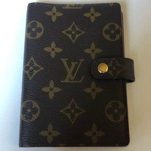 Louis Vuitton Small Ring Monogram Agenda PM